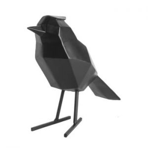 Statueta PT LIVING Bird Large, negru