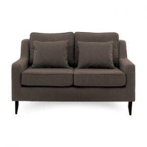 Canapea cu 2 locuri Vivonita Bond, maro