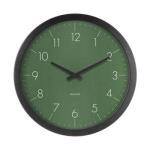 Ceas de perete Karlsson Dainty, verde