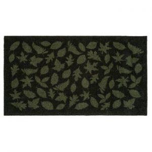 Covoras intrare tica copenhagen Leaves, 67x 120 cm, verde inchis