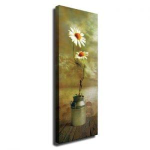 Tablou pe panza Daisy, 30 x 80 cm