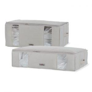 Set 2 cutii cu vid pentru depozitare sub pat Compactor XXL Life