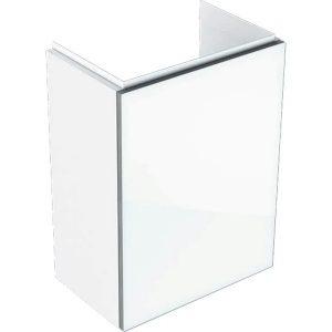 Dulap baza pentru lavoar suspendat alb Geberit Acanto 1 usa 40 cm