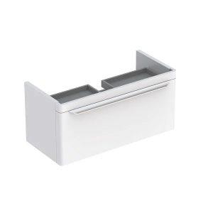 Dulap baza pentru lavoar suspendat alb Geberit Myday 1 sertar 88 cm