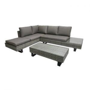 Set canapea pe colt si masa de gradina ADDU Cadiz