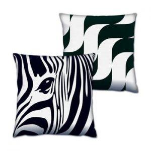 Set 2 perne Zebra, 43x43 cm