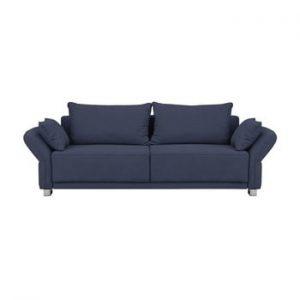 Canapea extensibila cu 3 locuri Windsor & Co Sofas Casiopea, albastru inchis