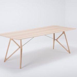 Masa din lemn masiv de stejar Gazzda Tink, 220 x 90 cm