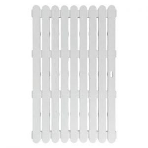 Covoras baie, adecvat si pentru exterior Wenko , 80x50cm, alb