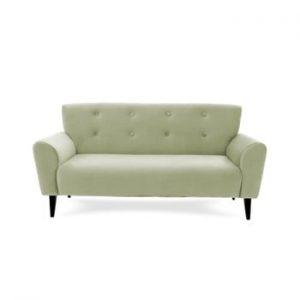 Canapea cu 3 locuri Vivonita Kiara, verde deschis