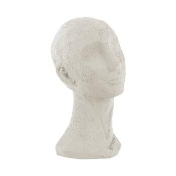 Statueta decorativa PT LIVING Face Art, inaltime 28,4 cm, alb fildes