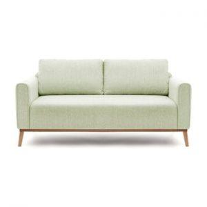 Canapea cu 3 locuri Vivonita Milton, verde menta