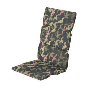Saltea scaun gradina Hartman Pink Silvan, 123 x 50 cm