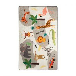 Covor copii Safari, 100 x 160 cm