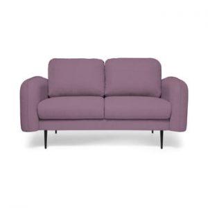 Canapea cu 2 locuri Vivonita Skolm, mov