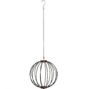 Decoratiune luminoasa suspendata pentru exterior Best Season Hanging Munty, ⌀ 30 cm