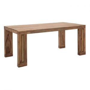 Masa din lemn sheesham Mauro Ferretti Elegant