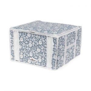 Cutie de depozitare cu vid pentru haine Compactor Signature Vicky, 125 l, albastru