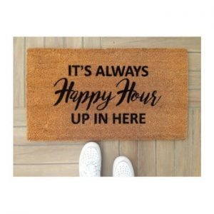 Pres Doormat Happy Hour, 70 x 40 cm