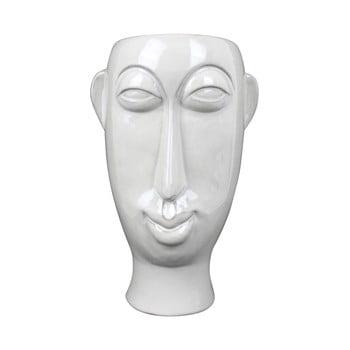 Vaza din portelan PT LIVING Mask, inaltime 27,2 cm, alb