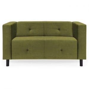 Canapea cu 2 locuri Vivonita Milo, verde olive