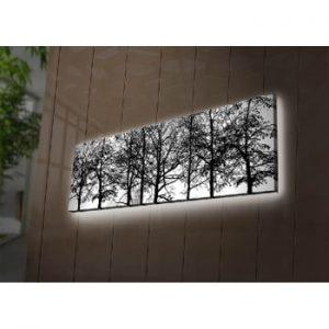 Tablou cu LED-uri Afrodita, 90 x 30 cm
