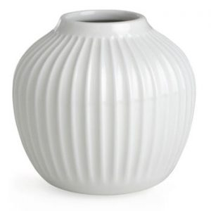 Vaza Kähler Design Hammershoi, mica, alb