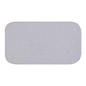 Covoras de baie Confetti Bathmats Organic 1500, 50 x 90 cm, alb