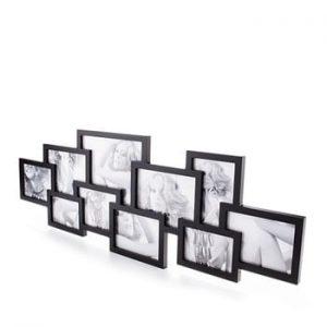 Rama pentru 10 fotografii Tomasucci Collage, negru
