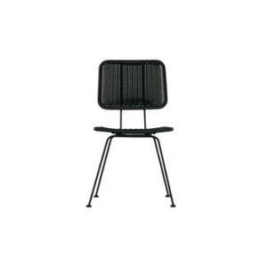 Set 2 scaune WOOOD Hilde, negru