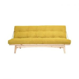 Canapea extensibila Karup Design Folk Raw/Honey