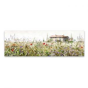 Tablou imprimat pe panza Styler Grasses, 140 x 45 cm