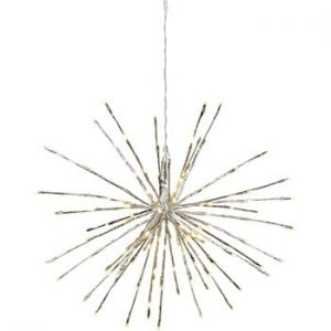 Decoratiune luminoasa LED pentru exterior Best Season Firework, Ø 60 cm