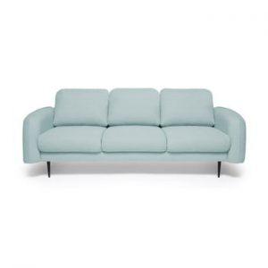 Canapea cu 3 locuri Vivonita Skolm, turcoaz deschis