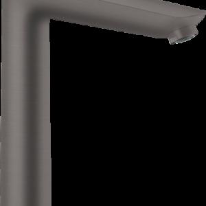 Baterie lavoar Hansgrohe Talis E 240 negru periat cu ventil