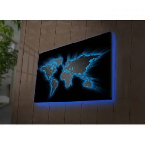 Tablou cu LED-uri Oliver, 70 x 45 cm
