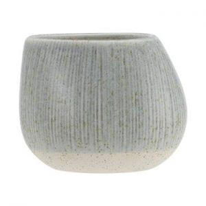 Ghiveci din ceramica A Simple Mess Skum, ⌀ 14 cm, gri - verde