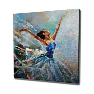 Tablou pe panza Ballet, 45 x 45 cm