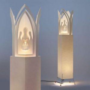 Lampa decorativa MooDoo Design Betlém Praha, inaltime 110 cm