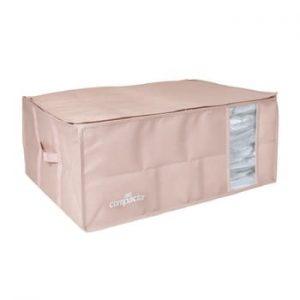 Cutie de depozitare cu vid pentru haine Compactor Pink Edition, 210 l