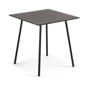 Masa La Forma Ulrich, 75 x 75 cm, negru