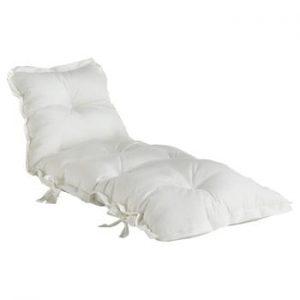 Futon extensibil adecvat pentru exterior Karup Design OUT™ Sit&Sleep White, alb