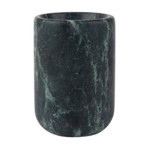 Vaza din marmura Zuiver Cup, verde