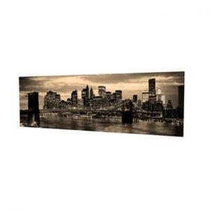 Tablou pe panza New York, 80 x 30 cm