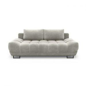 Canapea extensibila cu 3 locuri Windsor & Co Sofas Cumulus, gri deschis
