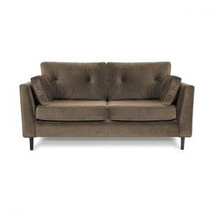 Canapea cu trei locuri VIVONITA Portobello, maro