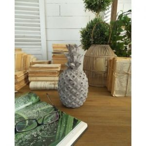 Statueta decorativa Orchidea Milano Pineapple, inaltime 24 cm