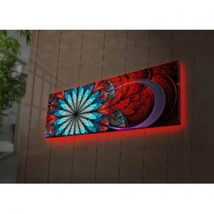 Tablou cu LED-uri Ollie, 90 x 30 cm