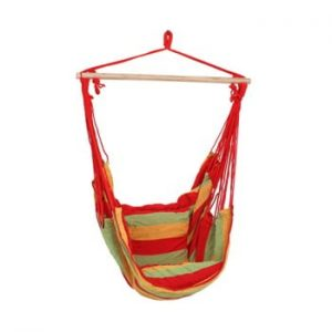 Scaun suspendat pentru gradina ADDU Tobago, rosu