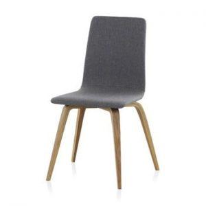 Scaun din lemn tapitat Geese